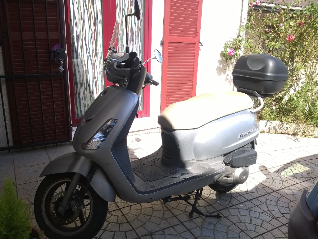 SYM Fiddle 125  2009