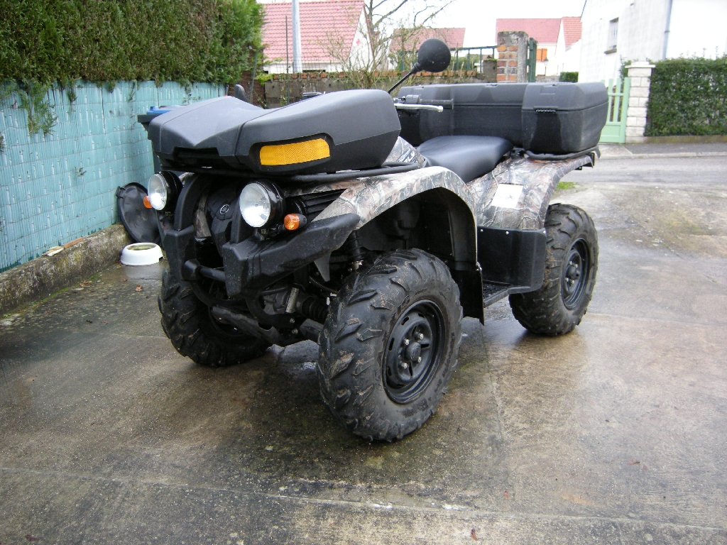 YAMAHA Grizzly 450 camo 2011