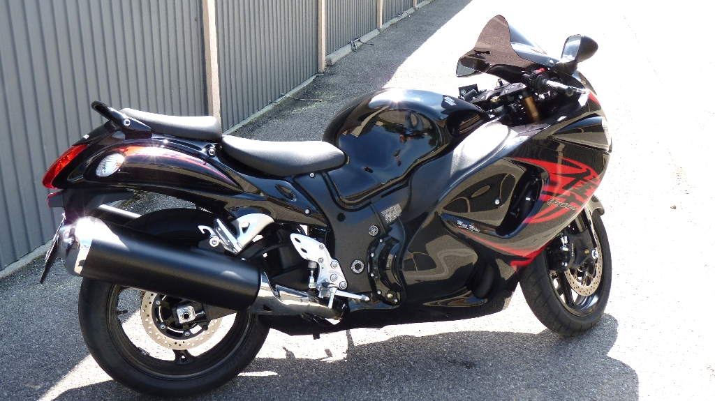 suzuki gsx r 1340 hayabusa 2010 d occasion 83300 draguignan var 8 250 km 8 900. Black Bedroom Furniture Sets. Home Design Ideas
