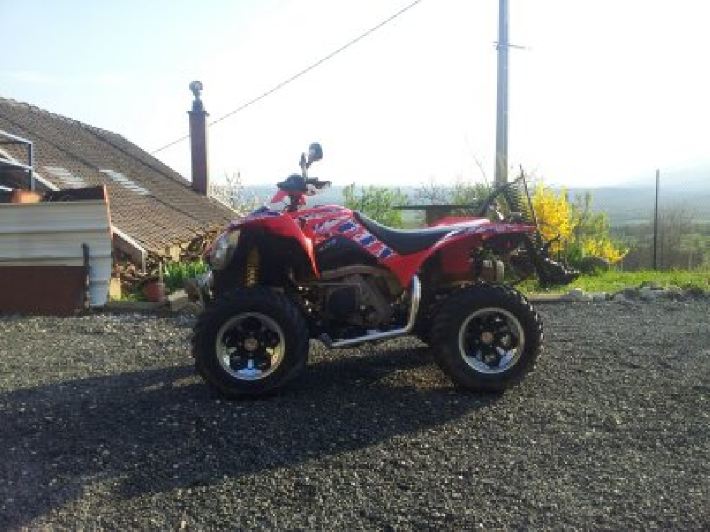 KYMCO Maxxer 400 irs 4x4 serie spéciale 2011 photo 1