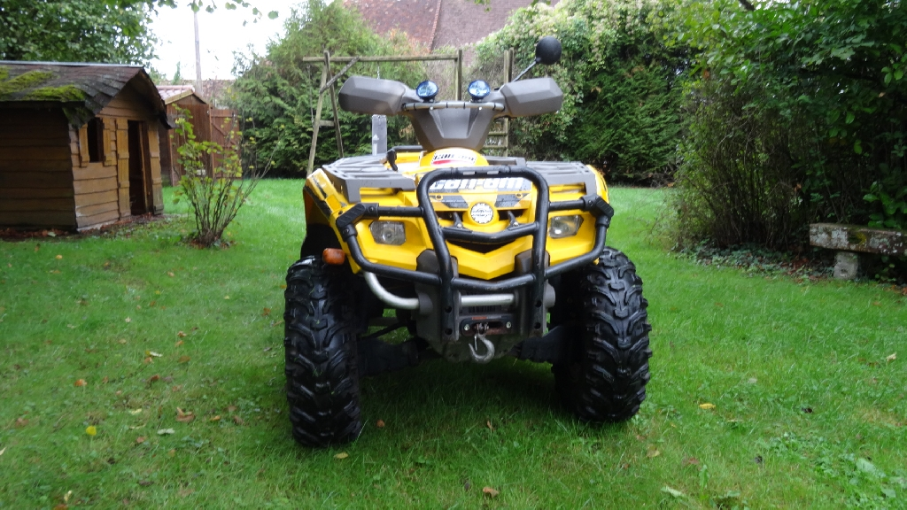CAN-AM BOMBARDIER Outlander 400 XT  2004 photo 2