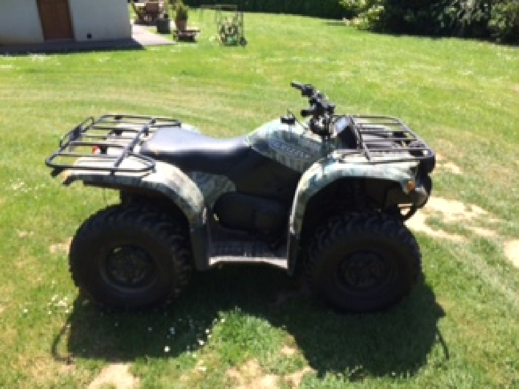 YAMAHA Grizzly 450 camouflage 2007