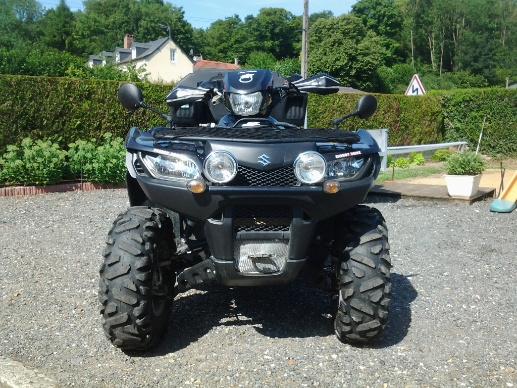SUZUKI Kingquad LTA 750  2012 photo 1
