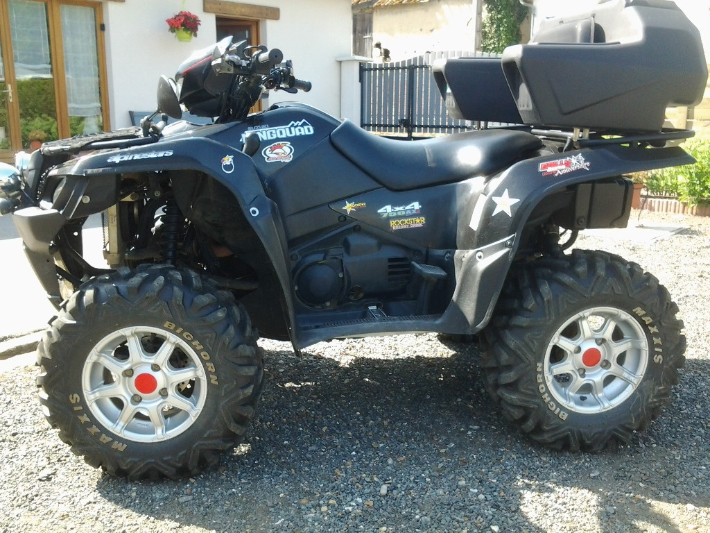 SUZUKI Kingquad LTA 750  2012 photo 2