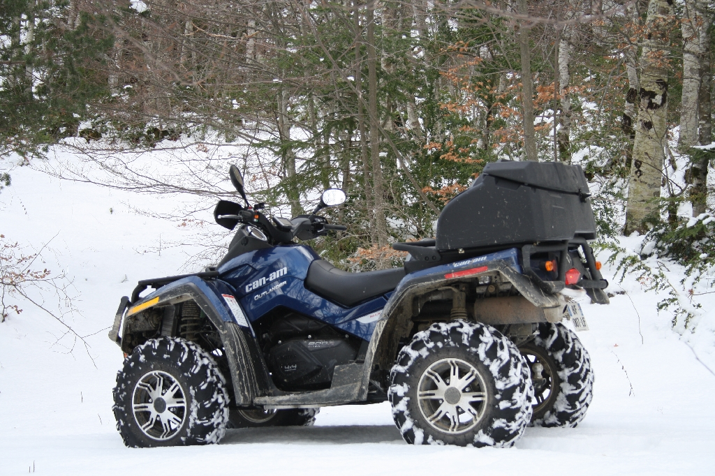 CAN-AM BOMBARDIER Outlander 800 LTD 2011