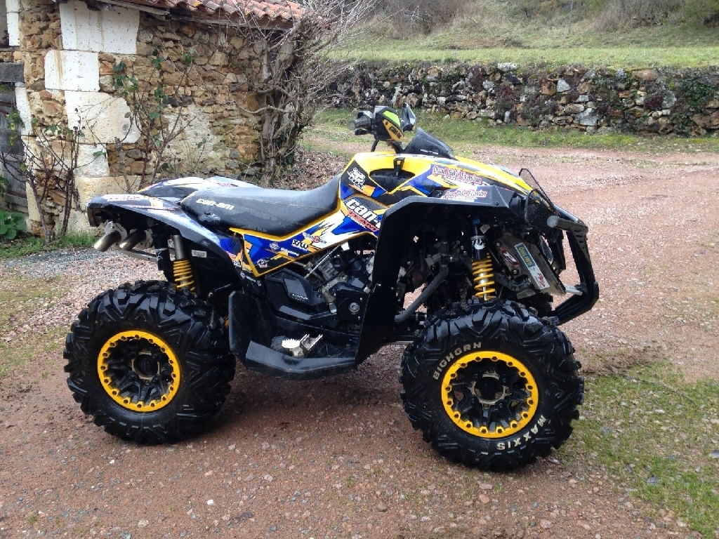 quad can am cognac