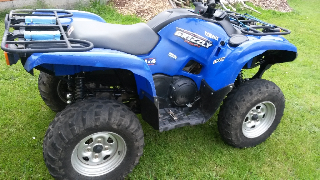 Yamaha grizzly 700 2008 d occasion 81210 lacrouzette for Yamaha grizzly 800