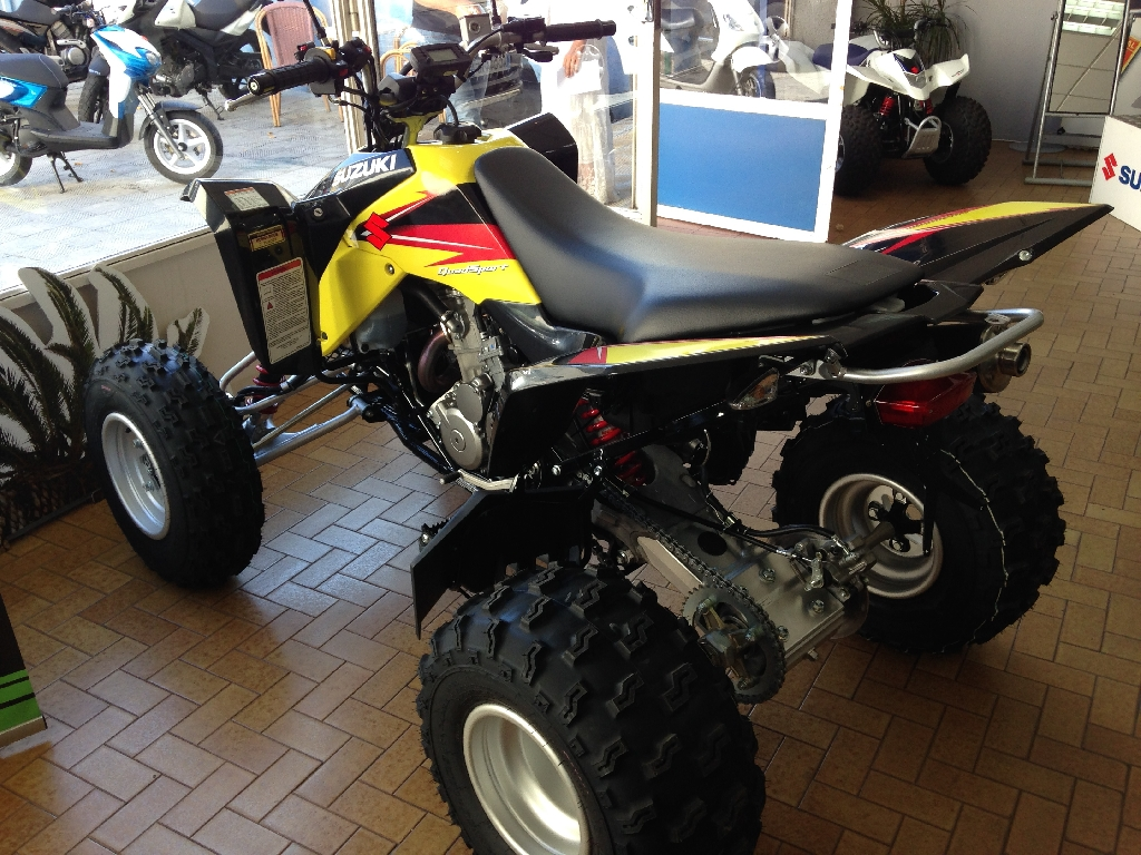 SUZUKI LTZ 400 sport homologue 2014 photo 2