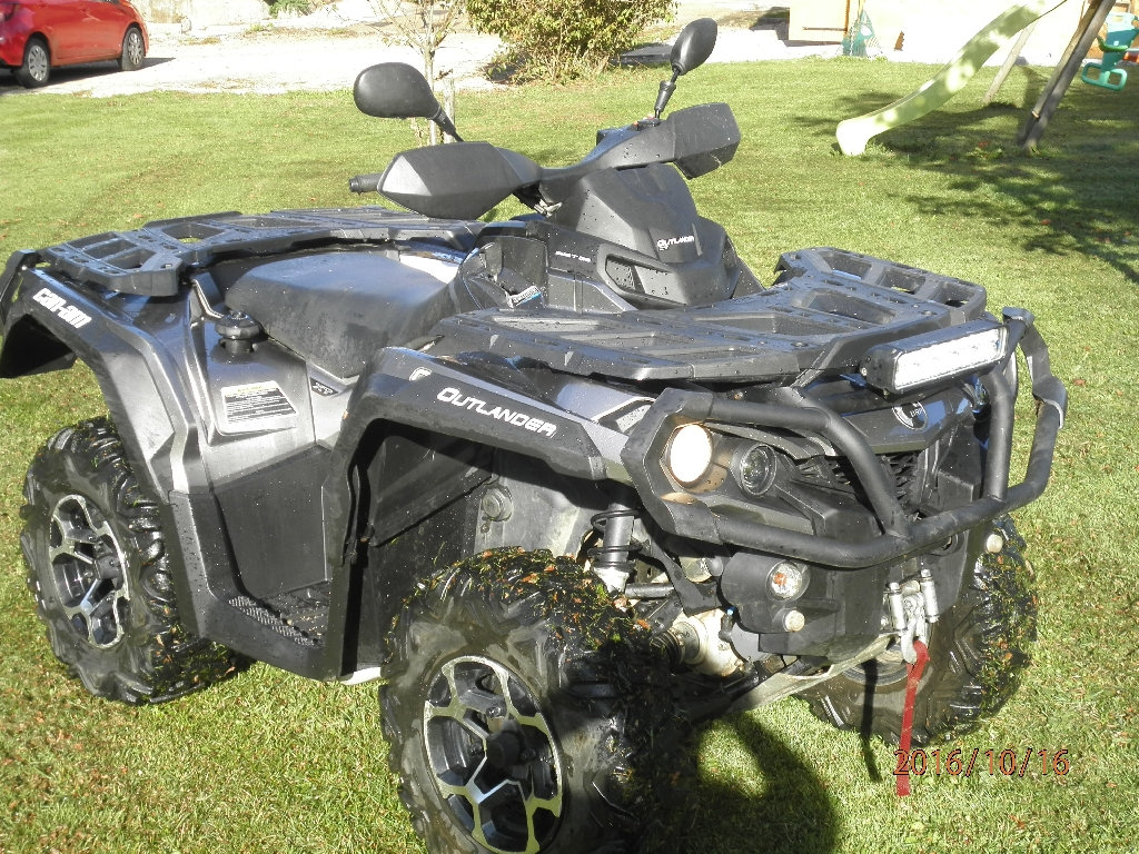 CAN-AM BOMBARDIER Outlander 1000 xt 2013 photo 2