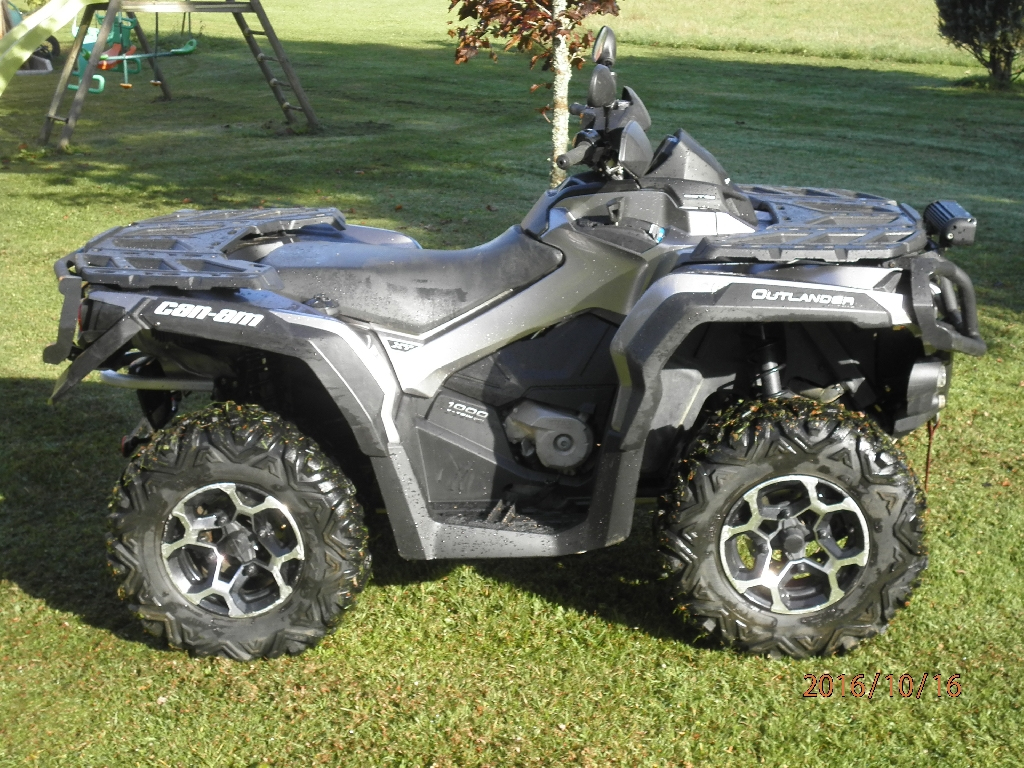CAN-AM BOMBARDIER Outlander 1000 xt 2013 photo 3