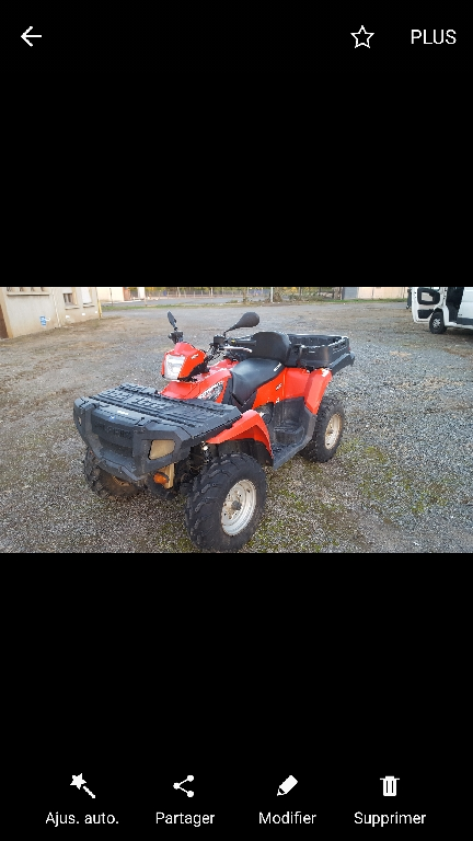 POLARIS Sportsman 500 X2 efi 2007 photo 1