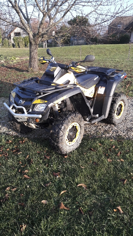 CAN-AM BOMBARDIER Outlander 800 XCC 2011