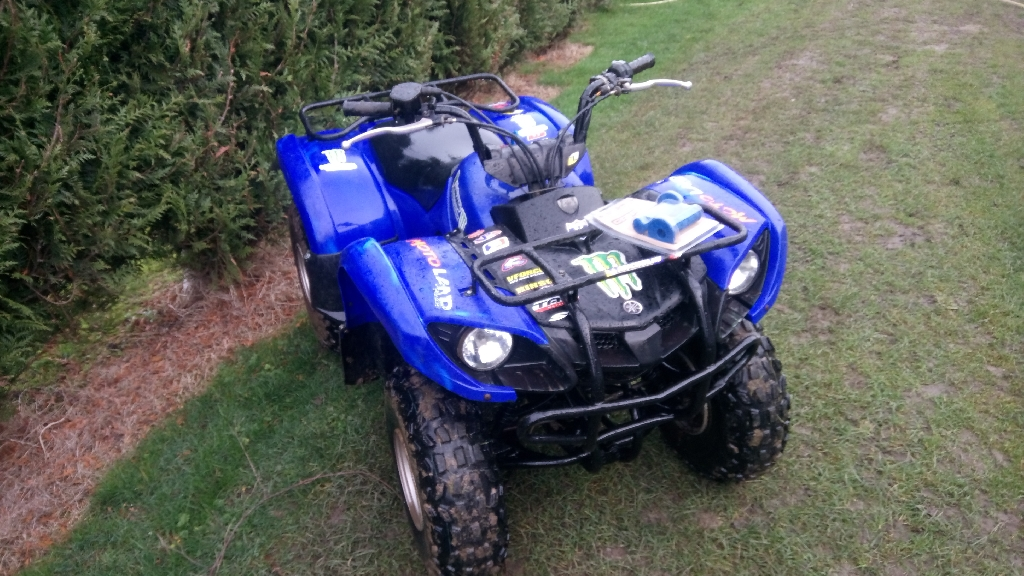 YAMAHA Grizzly 125 Bleu 2006