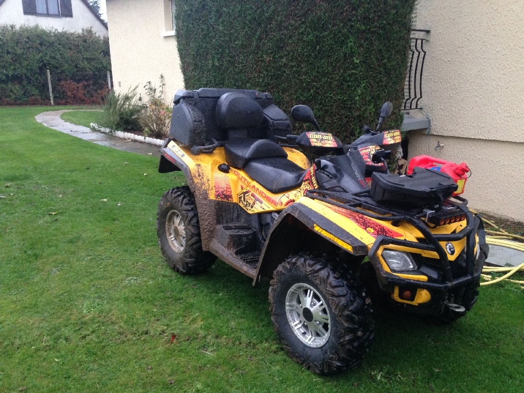 CAN-AM BOMBARDIER Outlander 500 DPS MAX 2010 photo 2