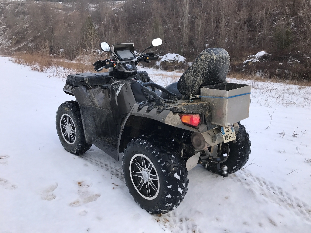 POLARIS Sportsman 850 touring 2014 photo 2