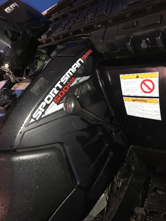 POLARIS Sportsman 500 Touring Quad MC  2008 photo 2