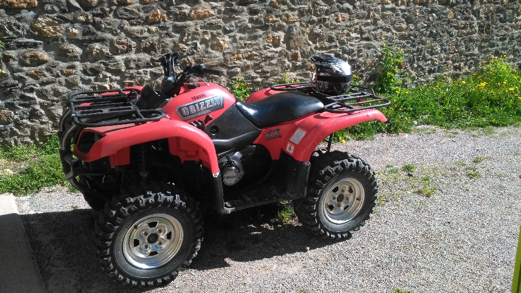 YAMAHA Grizzly 660  2005 photo 3