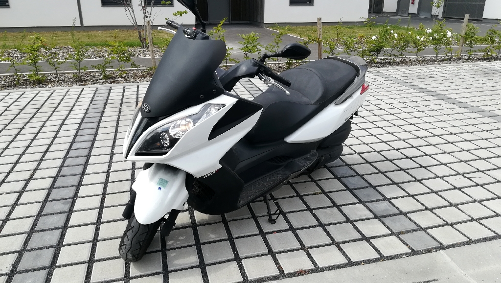 KYMCO Dink Street 125 injection bulle sport 2010