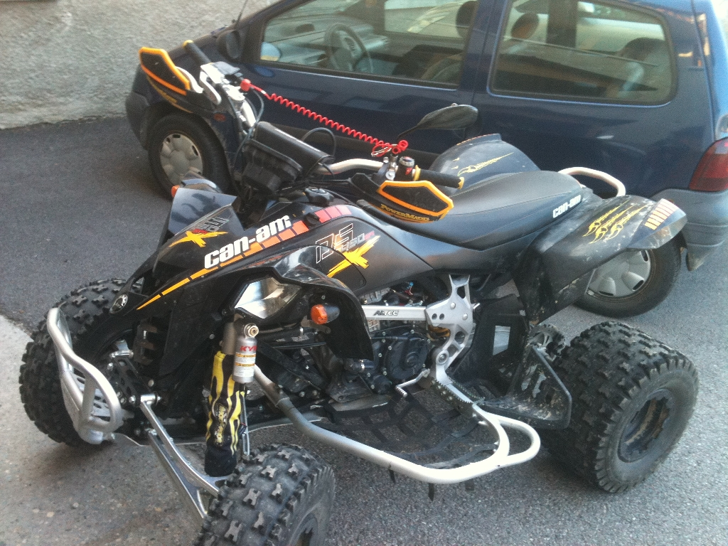 CAN-AM BOMBARDIER DS 450 x 2009