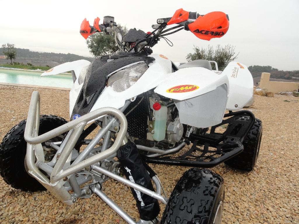 quad polaris blanc