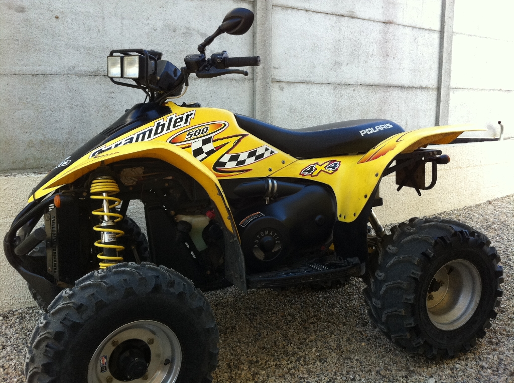 POLARIS Scrambler 500  2009 photo 1