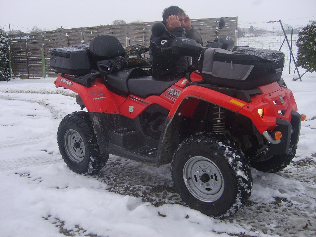 quad can am outlander 400 a vendre
