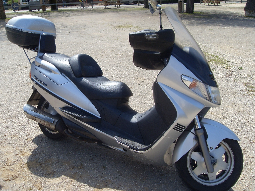 moto scooter 400 occasion
