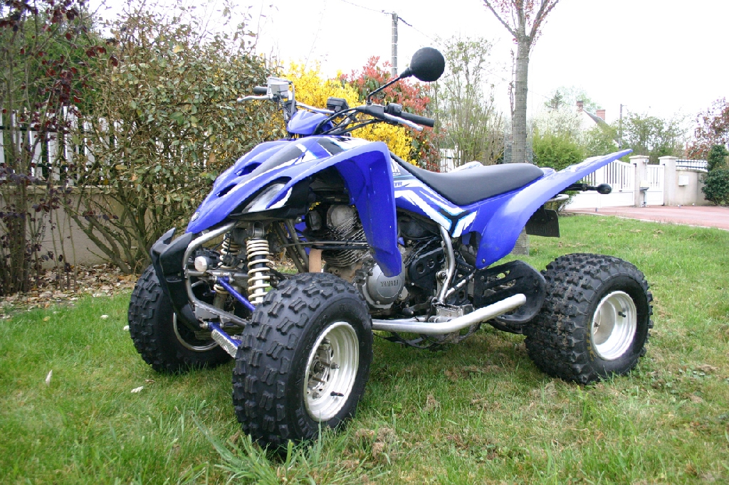 yamaha yfm 350 r raptor raptor yfm 350 rw 2006 d occasion 37000 tours indre et loire 4 360. Black Bedroom Furniture Sets. Home Design Ideas