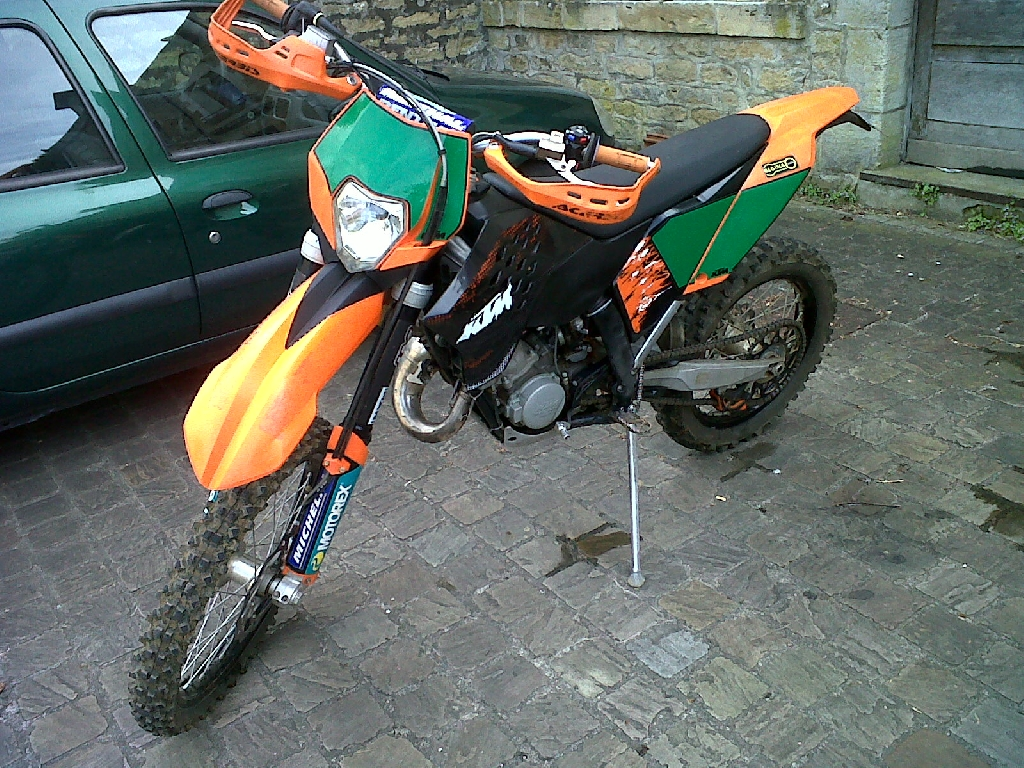 ktm 125 exc 2008 d occasion 08210 mouzon ardennes 4 179 km 4 200. Black Bedroom Furniture Sets. Home Design Ideas