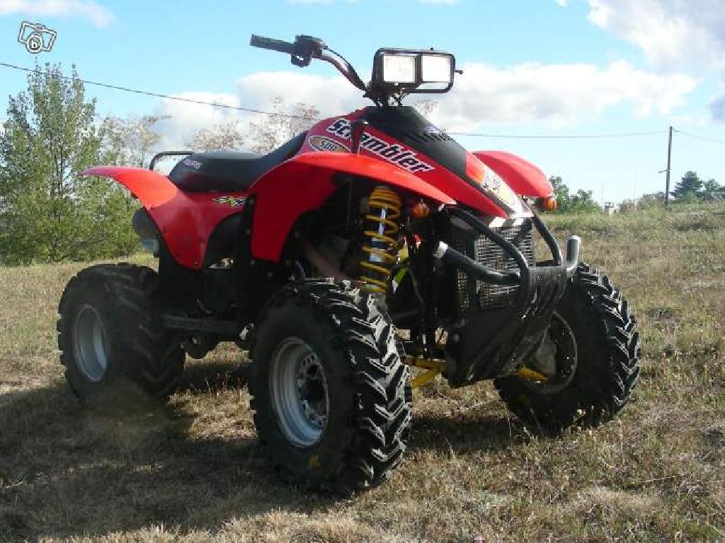 quad polaris 500 scrambler