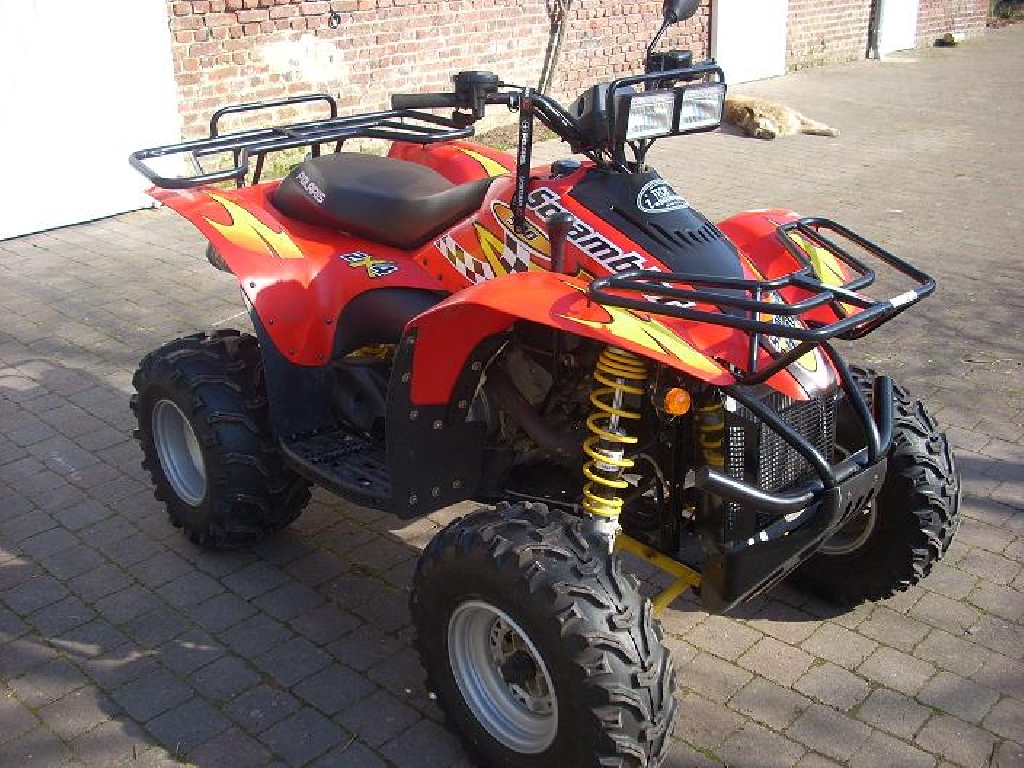 quad polaris 500 occasion