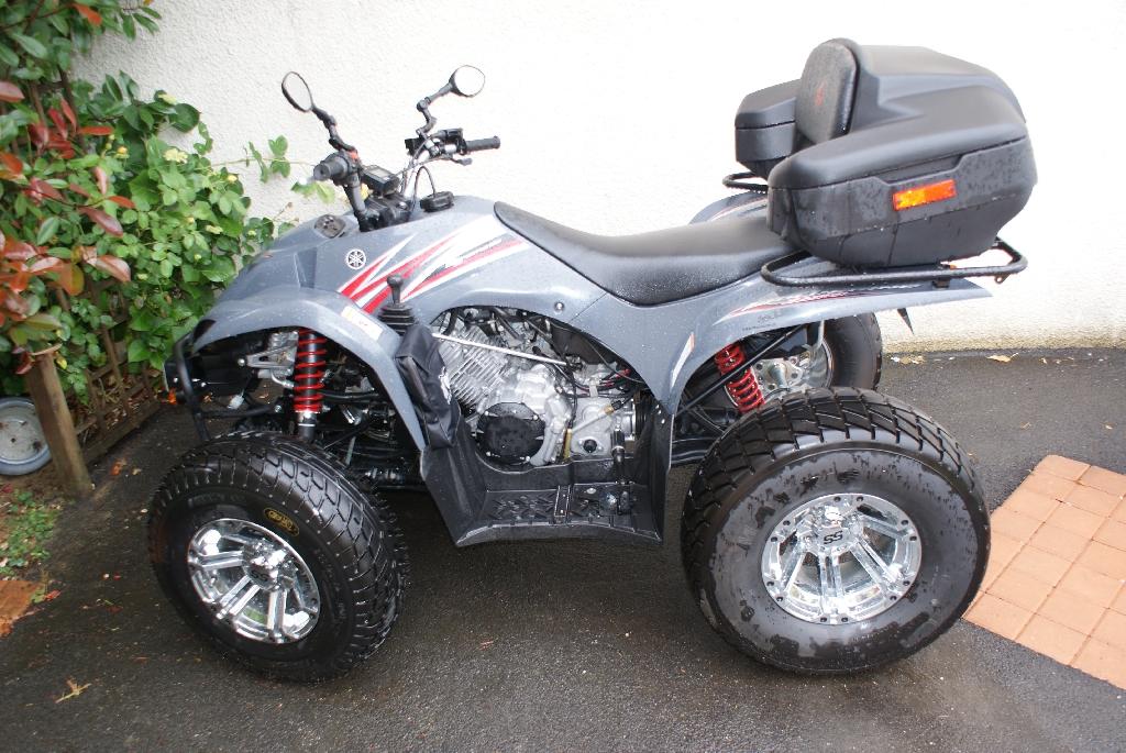 quad yamaha 350 wolverine