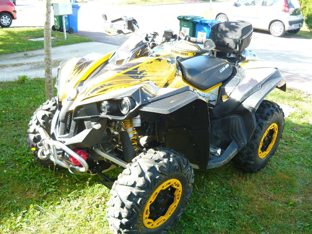 quad can am renegade d'occasion