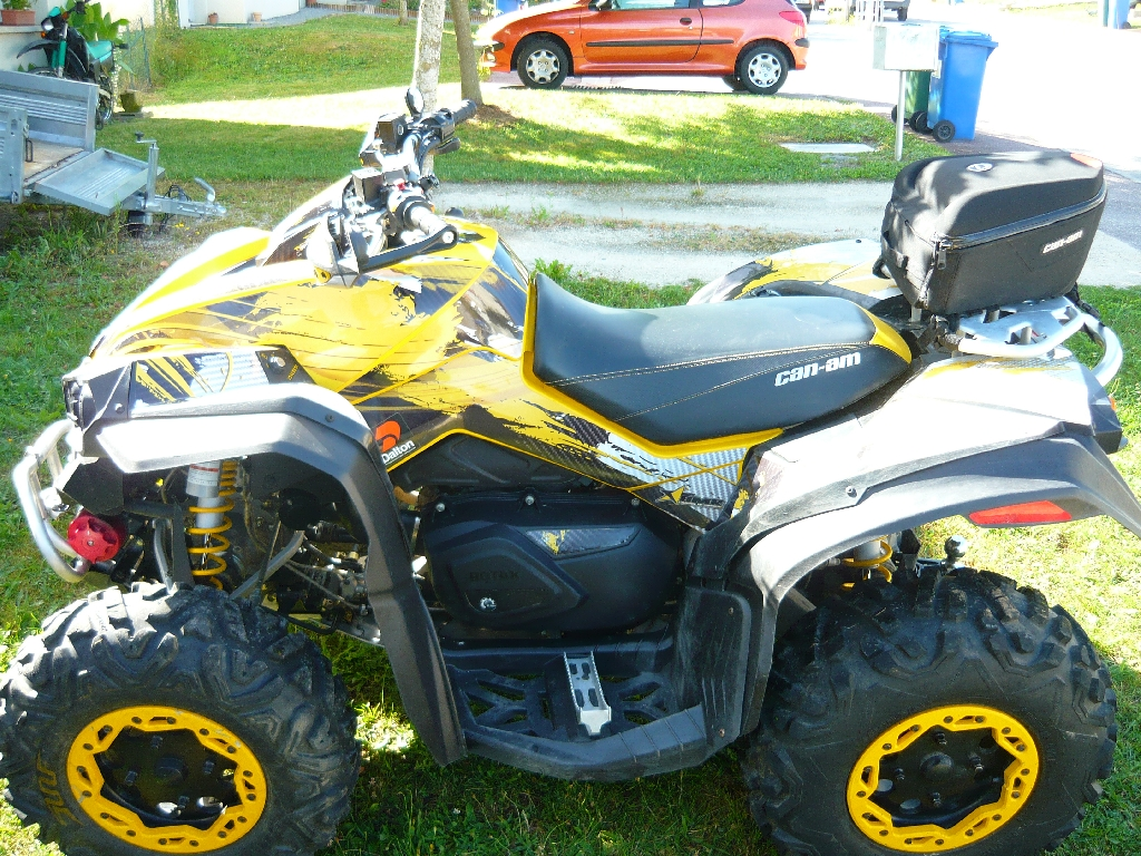 CAN-AM BOMBARDIER Renegade 800 XXC 2011 photo 2