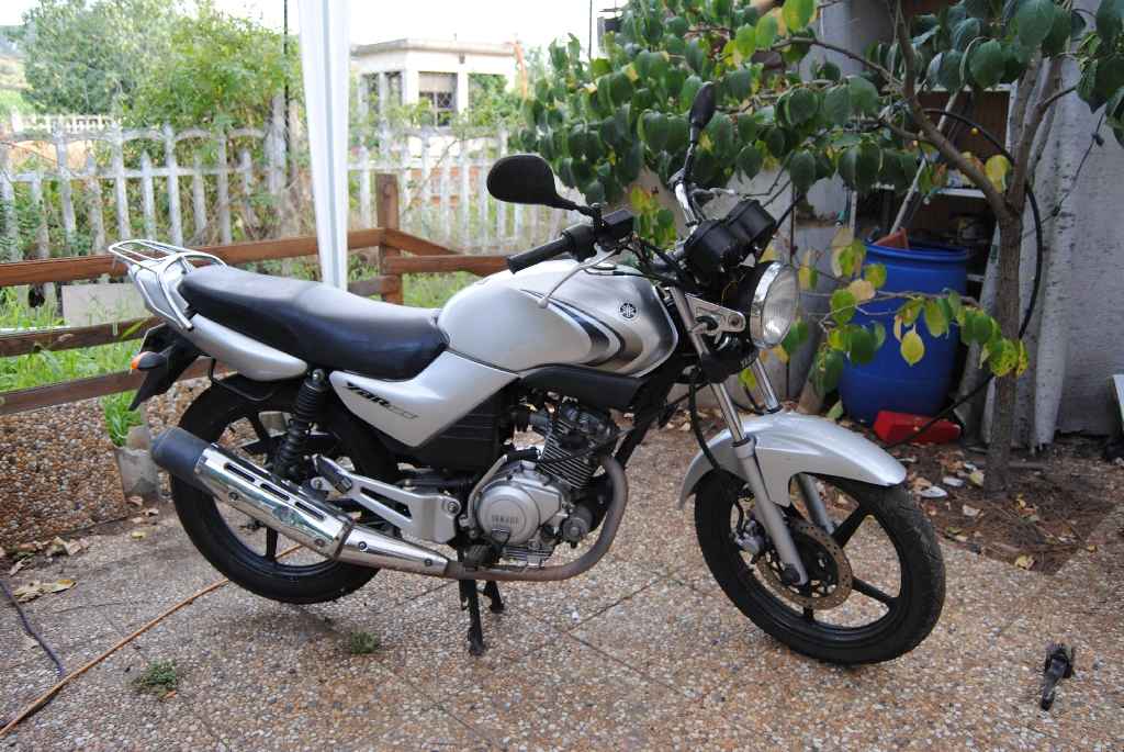yamaha ybr 125 2008 d occasion 11000 narbonne aude 38 000 km 1 000. Black Bedroom Furniture Sets. Home Design Ideas