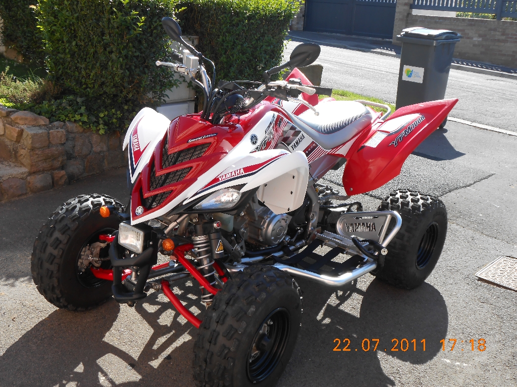 quad yamaha rouge
