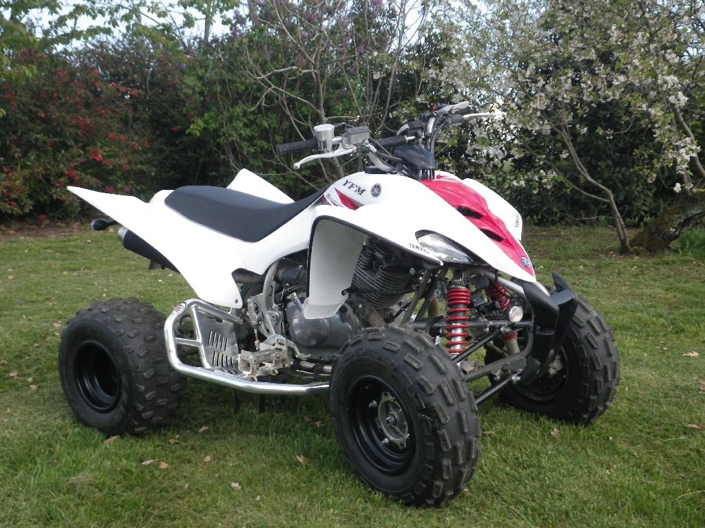 List of yamaha raptor 350 atvs for sale quad hunter every for Yamaha raptor 350 for sale used