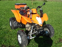 Quad occasion : KYMCO Maxxer 300 mudding
