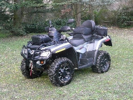 Quad occasion : CAN-AM BOMBARDIER Outlander 800 anthracite métal
