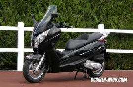 Scooter occasion : HONDA S-Wing 125 chrome