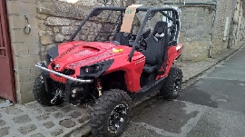 Buggy / SSV occasion : CAN-AM Commander 800