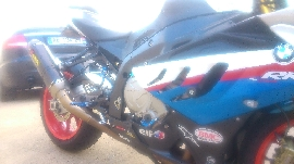 Moto occasion : BMW S 1000 RR réplica abs,dtc, shifter