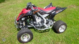 Quad occasion : YAMAHA YFM 700 R Raptor Superquader Tribal