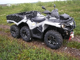 Quad occasion : CAN-AM BOMBARDIER Outlander 1000 6x6 XT T3
