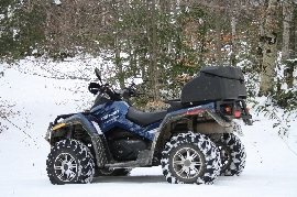 Quad occasion : CAN-AM BOMBARDIER Outlander 800 LTD