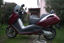 Scooter occasion : PEUGEOT Satelis 125 4v