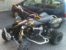 Quad occasion : CAN-AM BOMBARDIER DS 450 x