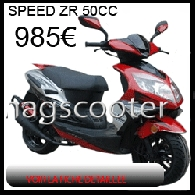 Scooter occasion : NAGSCOOTER ZR Speed 50 Sport