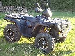 Quad occasion : POLARIS Sportsman 800 black edition
