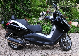 Scooter occasion : PEUGEOT Satelis 400